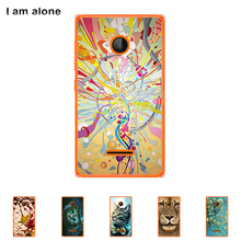 For Microsoft Nokia Lumia 532 4.0 inch Cellphone Cover Mobile Phone Protective Skin Color Paint Bag Shipping Free