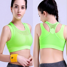 Professional women sports bras breathable quick-dry female yoga vest  women GYM running fitness dancing Shockproof underwear