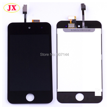 free shipping 5pcs/lot 100% full test screen replacement for ipod touch 4 4th lcd/digitizer assembly by dhl ups ems