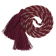 Arrive 1 Pair of Curtain Tiebacks Tie Backs Tassel Rope Living Room Bedroom Decoration 135CM (Red + Golden)(China)