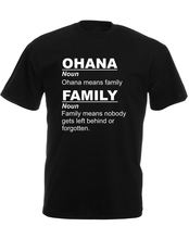 Make Your Own Logo Mens Graphic Tees O-Neck New Style Short Sleeve Mens Ohana Means Family Tee Shirt(China)