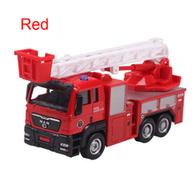 Alloy+ABS Friction Car Engineering Van Engineering Truck SAM Fire Truck Garbage Truck Dump Truck Mixers Car etc(China)