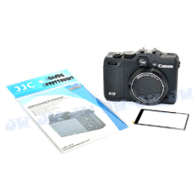 JJC LCP-G15 Optically Clear Hard LCD Cover Screen Monitor Protector for CANON POWERSHOT G15 camera