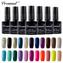 Vrenmol 1pcs Nail UV Gel Nail Polish Vernis Soak Off Gel Lak Colored Nail Long Lasting Shining 29 Color Gel Lacquer