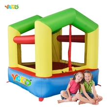 YARD Free Shipping Mini Air Toy Inflatable Bouncer Happy Bouncy Jumper For Baby Kids(China)