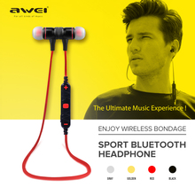 Awei A920BL Smart Wireless Sport Earphone Bluetooth 4.1 Stereo In-ear Earphones Voice Control with Mic for IOS Android Phone