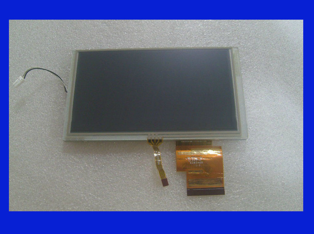 Original 6.2 inch LCD screen for Hannstar HSD062IDW1 A00 GPS LCD display Screen with Touch screen digitizer Repair replacement<br>