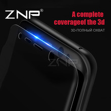 ZNP Soft Protective Film Full Cover For Samsung Galaxy S8 S8 Plus S7 Edge Screen Protector For Samsung S8 ( Not Tempered Glass )(China)