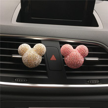 New personalized car air conditioning outlet perfume Interior decoration for ladies Auto Parfum Air Freshener Car Styling