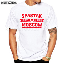 Buy 2018 New Arrival T-Shirts Men SPARTAK MOSCOW Logo Fashion Russian Premier League Printed T shirt Short Sleeve Tee Shirts for $3.98 in AliExpress store