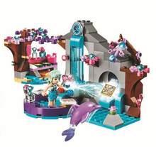 249Pcs Girl Naida Secret Spa Fairy Elves Building Blocks Set Toys LegoINGly Friends 41072 for girl Christmas gift(China)