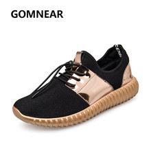 GOMNEAR 2017 Light Weight Running Shoes For Men Brethable Athletic Trainers Jogging Bright Color Antiskid High Quality Chassures(China)