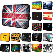 Wholesale Retails 7 10 12 13 14 15 17 inch Laptop Portable Cover Sleeve Bag Soft Cases Cover Pouch Protector For Macbook Acer HP(China)