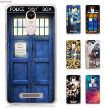 BINYEAE Doctor Who Transparent Case Cover for Xiaomi Redmi Mi Note 4X 2 3 3S 4A 5 5S 5X 5A Pro Plus(China)