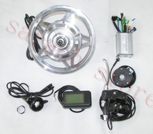 36V 250W  front whole wheel motor, Electric bike motor ,brushless gear hub motor with LCD ,electric bicycle kit , E-bike kit