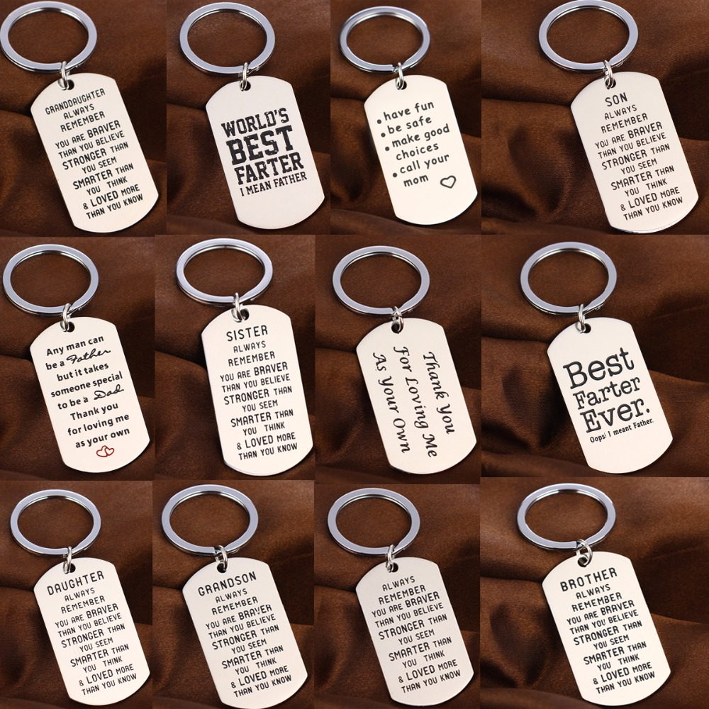 Gifts For Sister Daughter Mother Mom Friends Women Keychain Keyring Key Chain