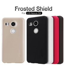 For LG Nexus 5X Case Nillkin Frosted Shield Hard Back Case For Google Nexus 5X Nexus5X Gift Screen Protector(China)