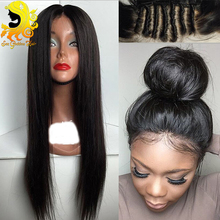 7A Silk Top Full Lace Wigs For Black Women Malaysian Silk Base Full Lace Human Hair Wigs Silky Straight Silk Top Lace Front Wigs