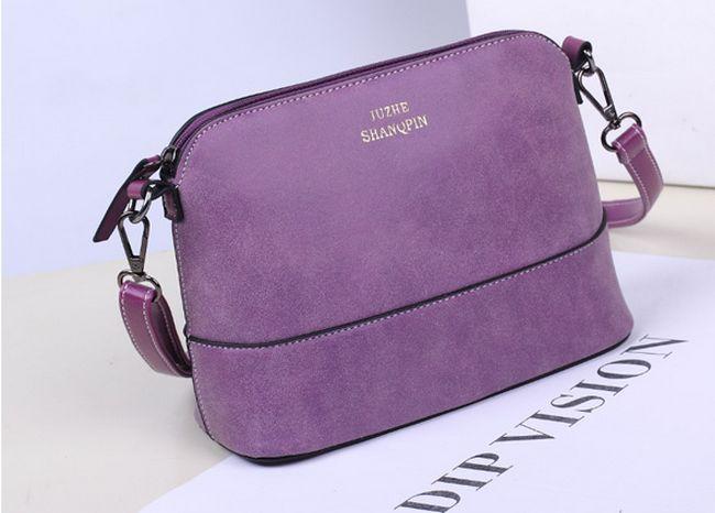 2017 Hot style womens handbag designer fashion vintage small shoulder messenger bag matte leather women shell bag<br><br>Aliexpress