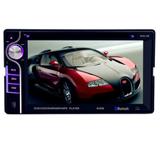 6202B Double Din Car DVD Player DIVX/DVD /VCD/CD/USB/Bluetooth Auto Multimedia Player 2 Din MP5 Audio Player Remote Controller(China)