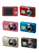 100% Brand New And  High Quality 15 Mega Pixels CMOS 2.7 inch TFT LCD Screen HD 720P Mini Camera ,Camera Digital 5X Optical Zoom