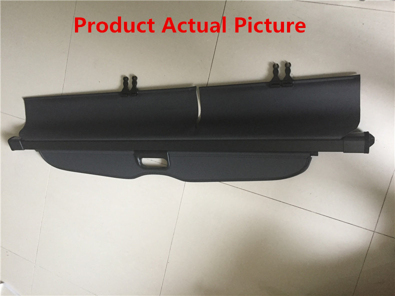Car Rear Trunk Security Shield Cargo Cover For Chevrolet Captiva 2008.09.2010.2011.2012.2013.2014 High Qualit Auto Accessories