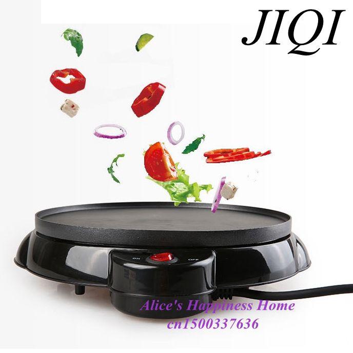 JIQI Kitchen tools electric thin pancake maker spring roll machine egg roll machine cake maker<br>