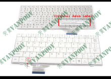 New notebook Laptop keyboard for ASUS EeePC 700 701 701SD 900 901 900hd 900A 2G 4G 8G Series White US Version - V072462AS1(China)
