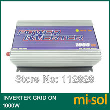 Grid Tied Inverter for photovoltaic system 1000W, 22V-60VDC Input,120V AC Output(China)