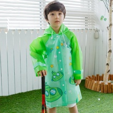 Newly Waterproof Raincoats Kids Cartoon Animal Printed Poncho Children Raincoat Outside Rain Coat Rain Gear 3 Colors