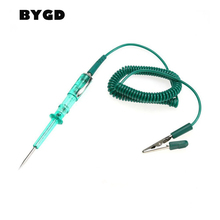 Car Auto Electrical Test Pen Detection Pencil Circuit Voltage Tester For 6V/12V/24V DC System Probe Car Repair Diagnostic Tool(China)