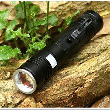 YAGE Flashlight Q5 Aluminum Waterproof Zoomable CREE USB LED Flashlight Torch light Lantern Five Modes for 18650 Battery