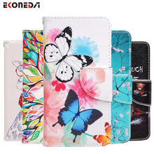 EKONEDA For Samsung A5 2015 Case Samsung Galaxy A5 2016 Wallet Flip Case Lady Leather Stand Cover For Galaxy A5 Flip Case(China)