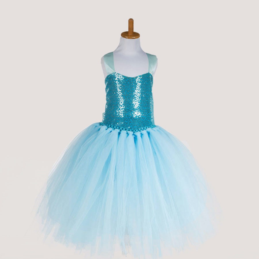 Fashion designer party clothes girls handmade tulle bandage kids girls sequins tutu dress boutique<br><br>Aliexpress