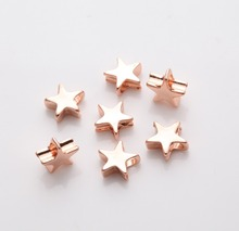 Popular Design Metal Charms Silver/Gold/Rose gold Star Charms for Jewelry Making High Quality Star Shapes in Wholesale
