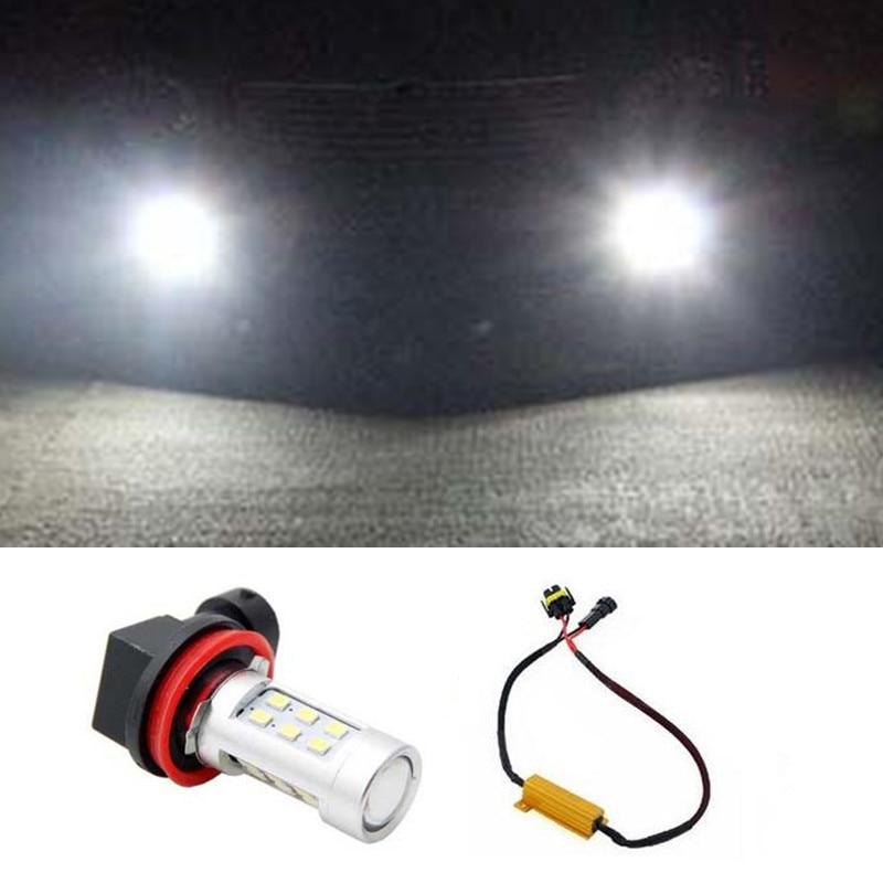 1pcs Car Accessories H11 H8 LED 2835 21SMD Projector Fog Light DRL No Error For Skoda Octavia 2010-2014 Car Styling<br><br>Aliexpress