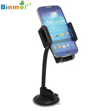 Hot-sale BINMER Universal Car Windshield Dashboard Suction Cup Mount Holder Stand For Cell Phone