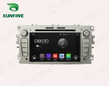 Quad Core 1024*600 Android 5.1 Car DVD GPS Navigation Player for Ford Mondeo 2007-2010 Radio Wifisteering wheel control Remote(China)