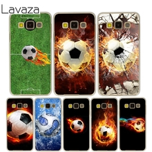 Lavaza Fire Football Cover Case for Samsung Galaxy A3 A5 J5 2015/2016/2017 Cases for J3 J5 Grand Prime J7