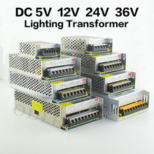LED Driver Power Supply AC110-220V to DC5V 12V 24V 36V 60W 120W 200W 240W 360W 480W LED Adapter Lighting Transformers(China)