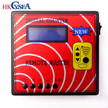 HKCYSEA Newest DIGITAL COUNTER REMOTE MASTER 10 Generation Frequency Tester, Regenerate RF Remote Copier,Key Programmer(China)