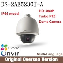 HIK DS-2AE5230T-A HD1080P Turbo PTZ Dome Camera original English Version CMOS 30X Optical Zoom ONVIF uk RJ45 Cctv security