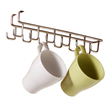Kitchen Storage Rack Wardrobe Organizer Cupboard Kitchen Tool Hanging Hook Shelf Cup Hanger Chest Storage Shelve Bathroom Holder