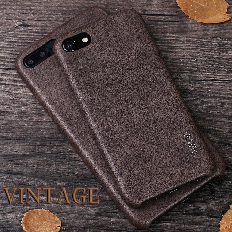 Original X-Level Brand Vintage Leather Cover Cases for iphone 7 plus 4.7 5.5 inch PU Leather Phone Bags for iphone7 Capa(China (Mainland))