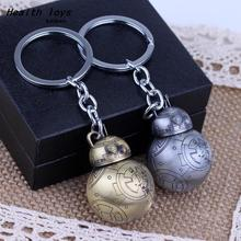 Porte Clef Star Wars 7 Keychain The Awakening force War Star Spherical robot BB-8 Keyring Handbag Pendant(China)