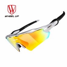 Wheel Up UV400 Polarized Sports Men Sunglasses  5 Lens Cycling Glasses Mountain Bike Riding Protection Goggles Bicycle Eyewear