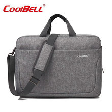 "Buy COOL BELL Laptop Bag New Arrival Brand Waterproof handbag 17"" Notebook Computer Unisex Briefcase Shoulder Messenger Bag-FF for $28.56 in AliExpress store"