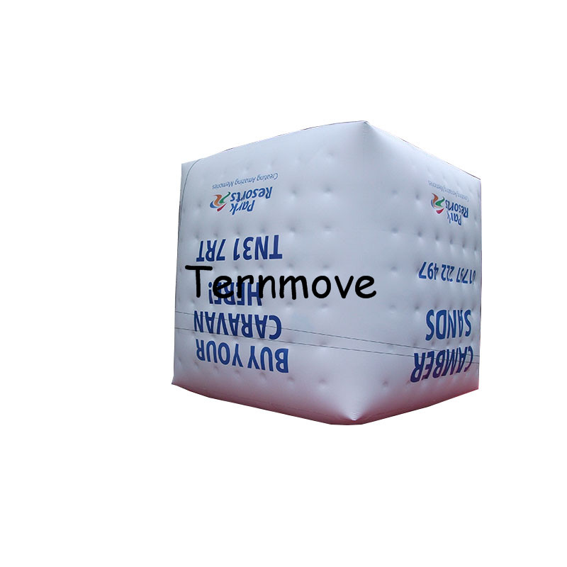 inflatable helium cube