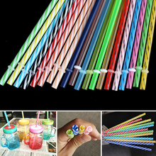 Sale Colored Diameter 7mm Large Drinking Straws For Bubble Tea Smoothie Milkshake Events Party supplies
