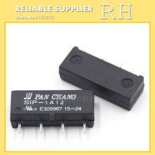 10PCS/lot Reed Relays SIP-1A12 1A 4PIN A group of normally open(China)